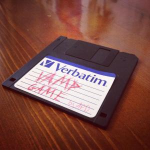 Vamp game floppy disc
